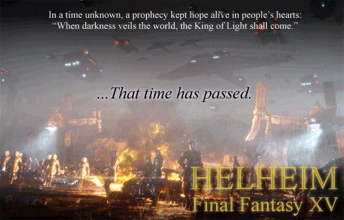 HELHEIM: Final Fantasy XV HelheimAd