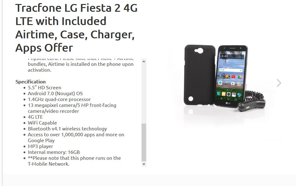 Welcome to Turk Forums -> (TracFone) LG Fiesta 2 (L163BL