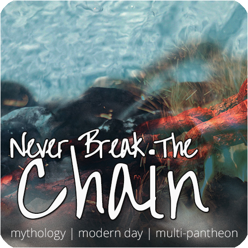 break the chain [ modern mythos   multi-pantheon   jc premi] Ad